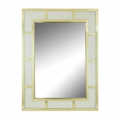 MIRROR WHITE GOLD FRAME