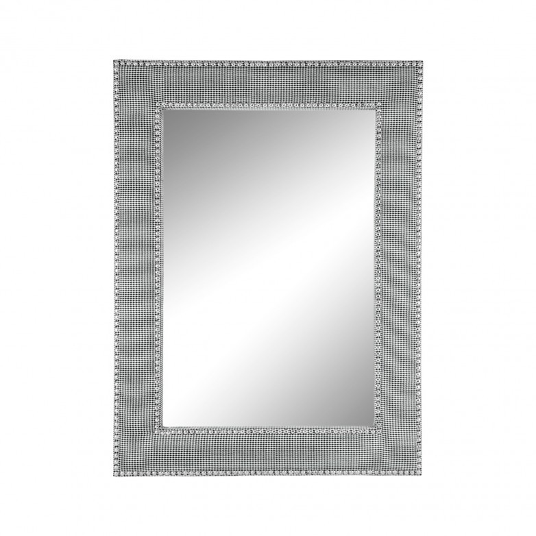MIRROR GLASS WITH UPHOLSTERED FRAME
