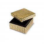 STUDDED DESIGN DECOR BOX