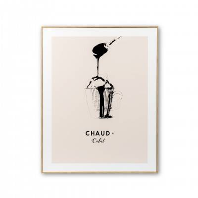 PICTURE WITH FRAME CHAUD-COLAT