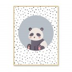 PICTURE PANDA WITH FRAME