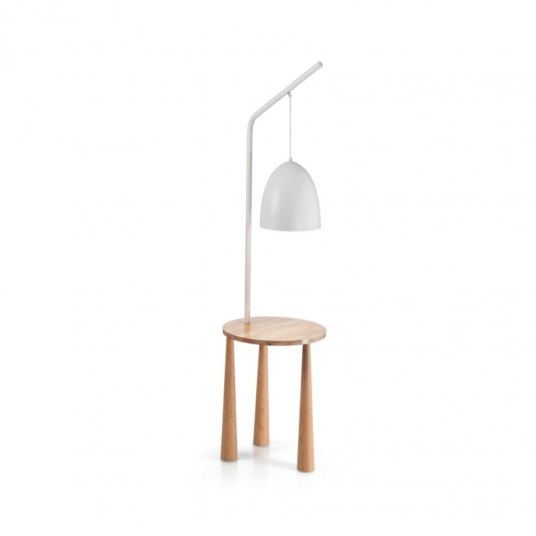 PIANO WHITE FLOOR LAMP