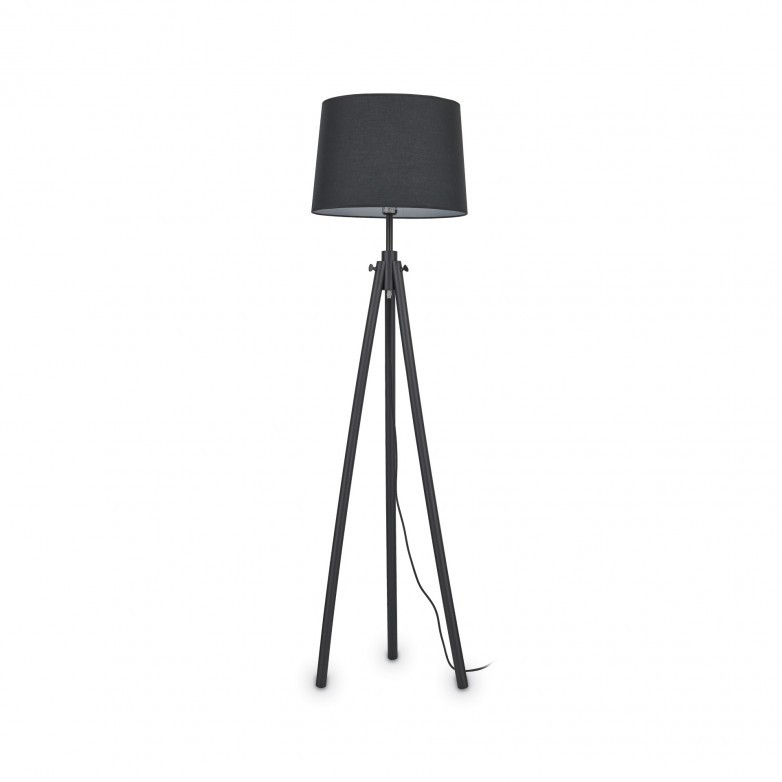 YORK BLACK FLOOR LAMP