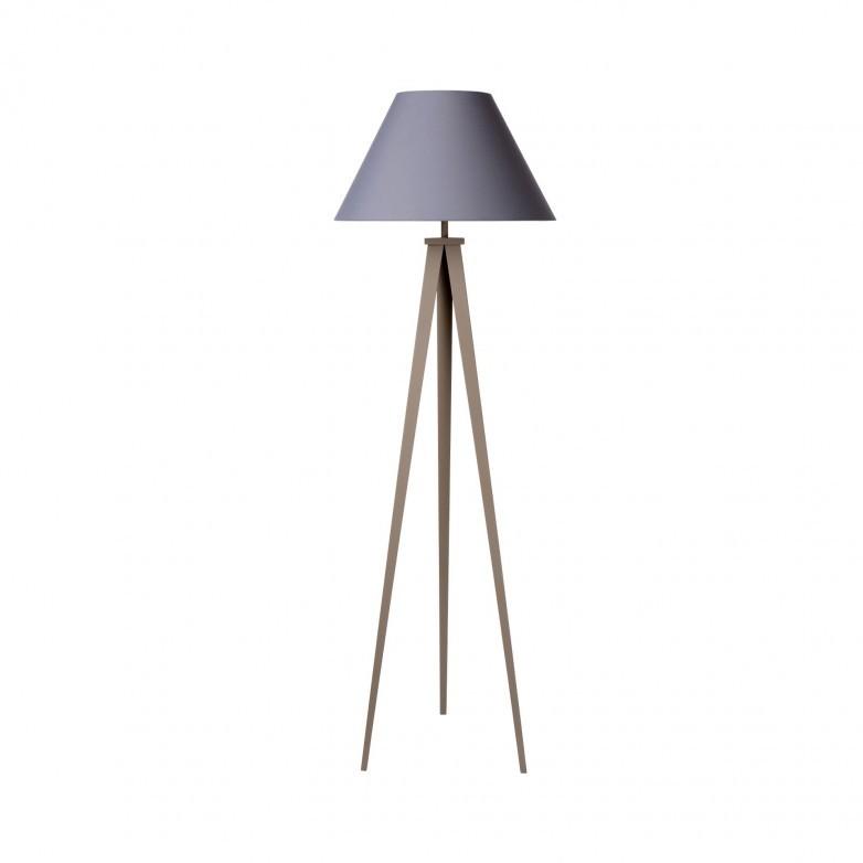 JOLLI TAUPE FLOOR LAMP