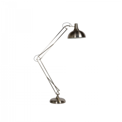 WATSIE SATIN CHROME FLOOR LAMP