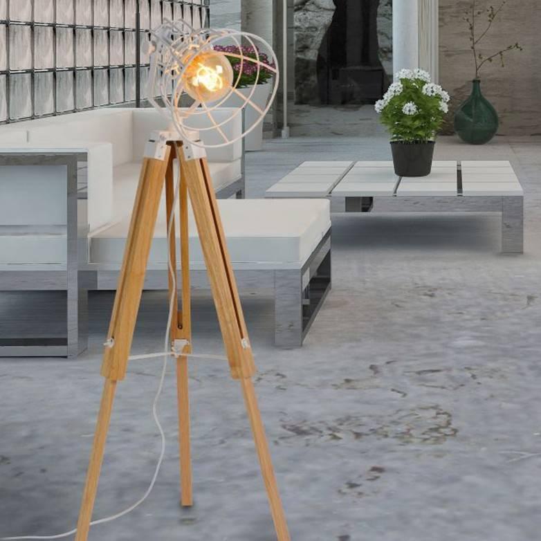 JOSHUA WHITE FLOOR LAMP