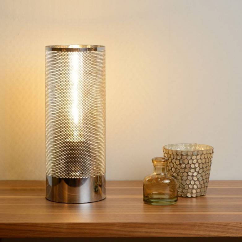 BELI CHROME TABLE LAMP