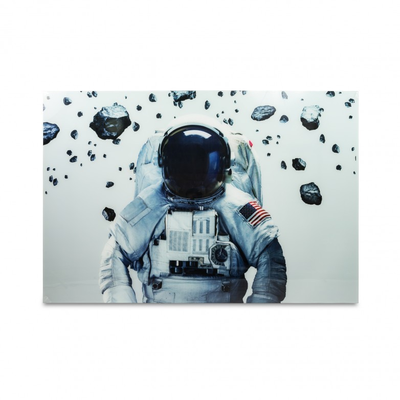 PHOTOGRAPHIC FRAME ASTRONAUT