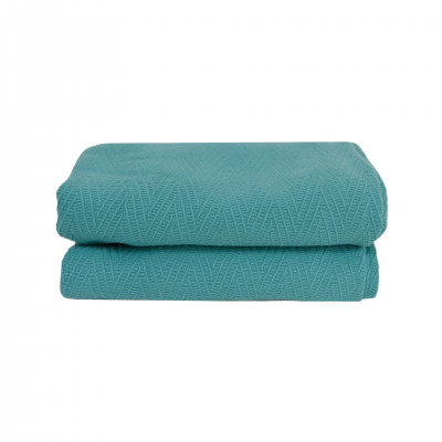 TURQUOISE NAOS BEDSPREAD 180