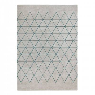 VEGAS BLUE TRIANGLES RUG