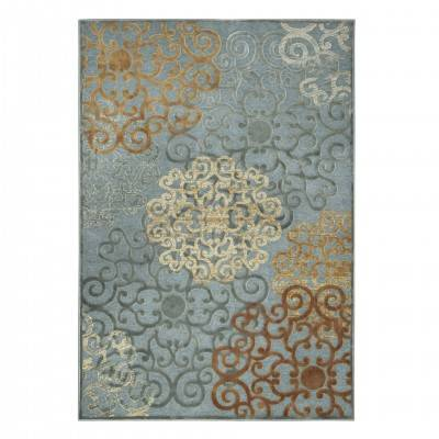 LIGHT BLUE ROESELARE RUG
