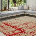 RED ANTIK CLOUD RUG