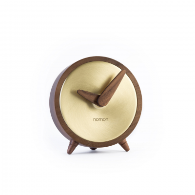 ÁTOMO GOLD TABLE CLOCK