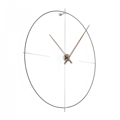 BILBAO BLACK WALL CLOCK