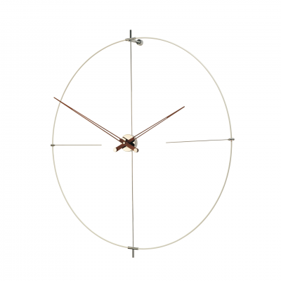 BILBAO WHITE WALL CLOCK