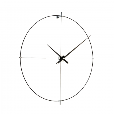 BILBAO ALL BLACK WALL CLOCK