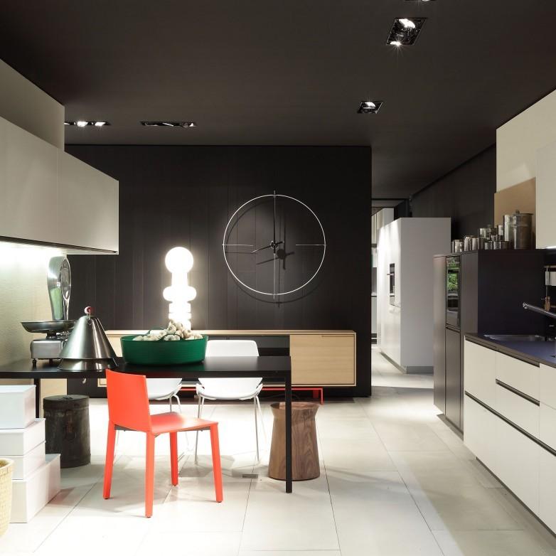 BILBAO WHITE & BLACK WALL CLOCK