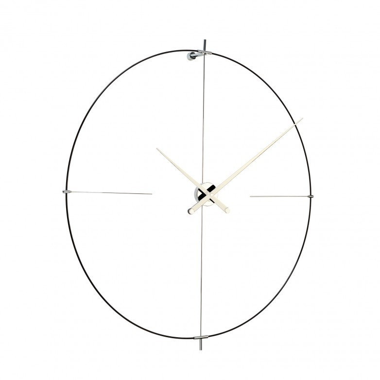 BILBAO BLACK & WHITE WALL CLOCK