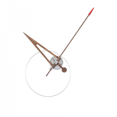 CRIS RED WALL CLOCK