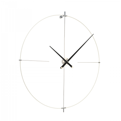 BILBAO WHITE & BLACK WALL CLOCK