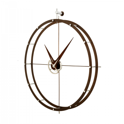 DOBLE O RED WALL CLOCK