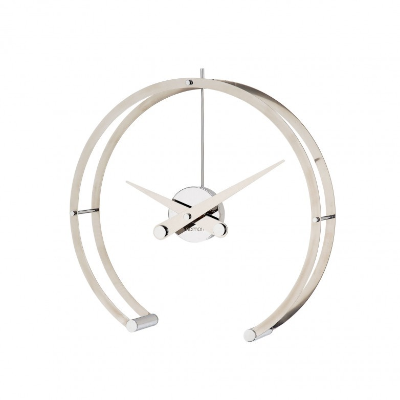 OMEGA CHROME TABLE CLOCK