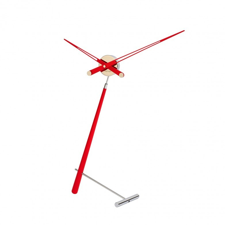 PUNTERO RED TABLE CLOCK