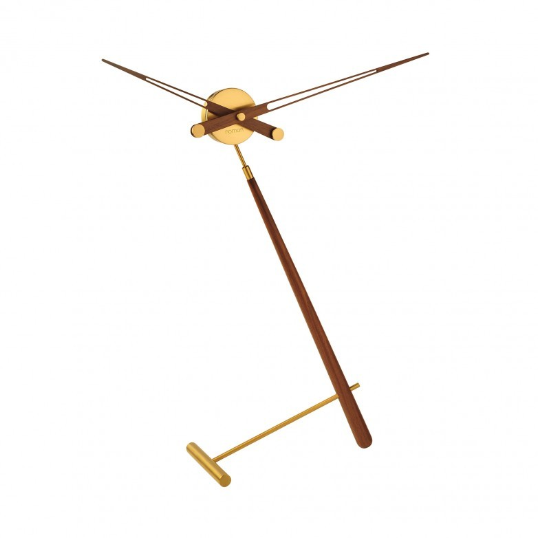 PUNTERO GOLD TABLE CLOCK