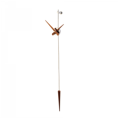 PUNTO Y COMA CHROME II WALL CLOCK