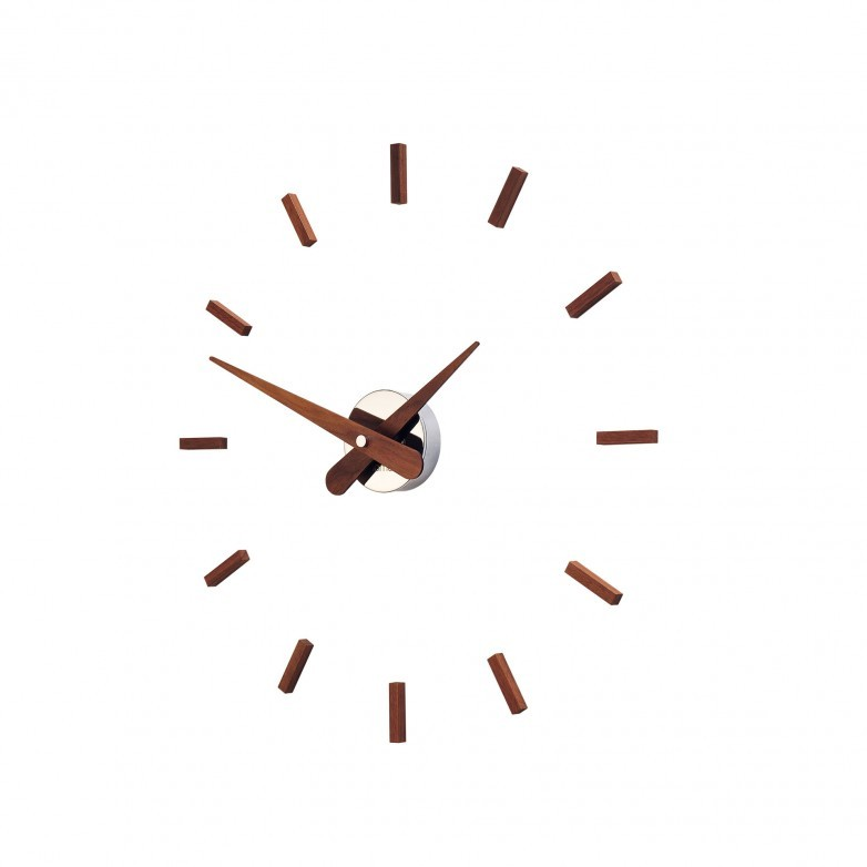 SUNSET CHROME WALL CLOCK