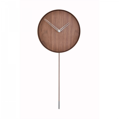 SWING CHROME WALL CLOCK