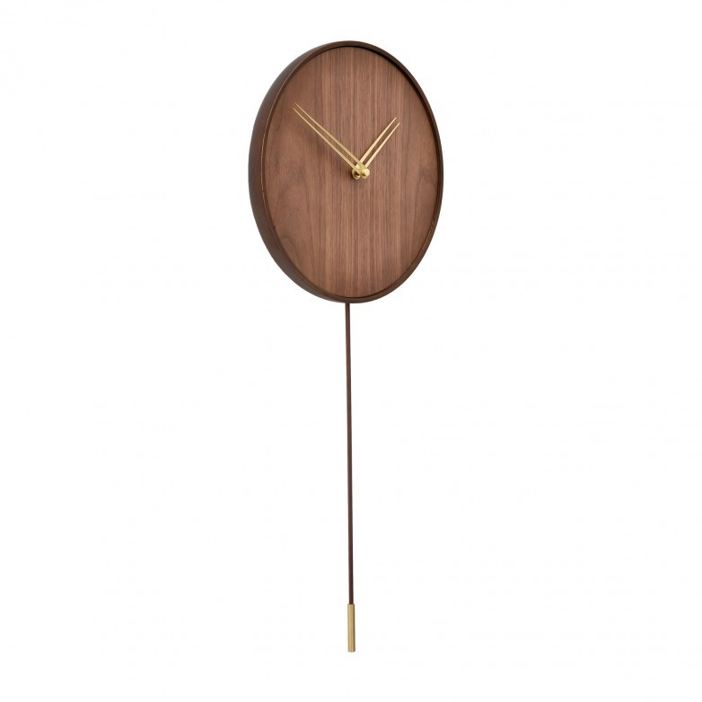SWING GOLD WALL CLOCK