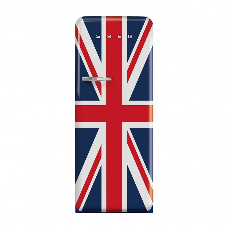 1 DOOR FRIDGE (R) FAN ASSISTED ANNI 50, UNION JACK