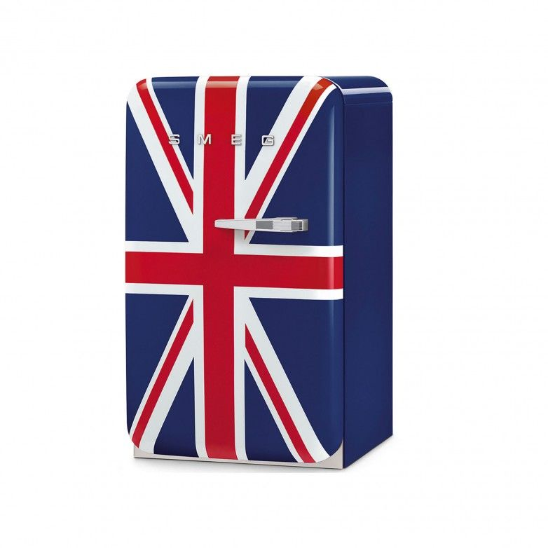 1 DOOR FRIDGE (L) ANNI 50, UNION JACK