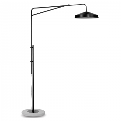 BLACK BRIGHTON FLOOR LAMP