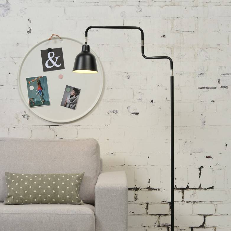 BLACK LONDON FLOOR LAMP