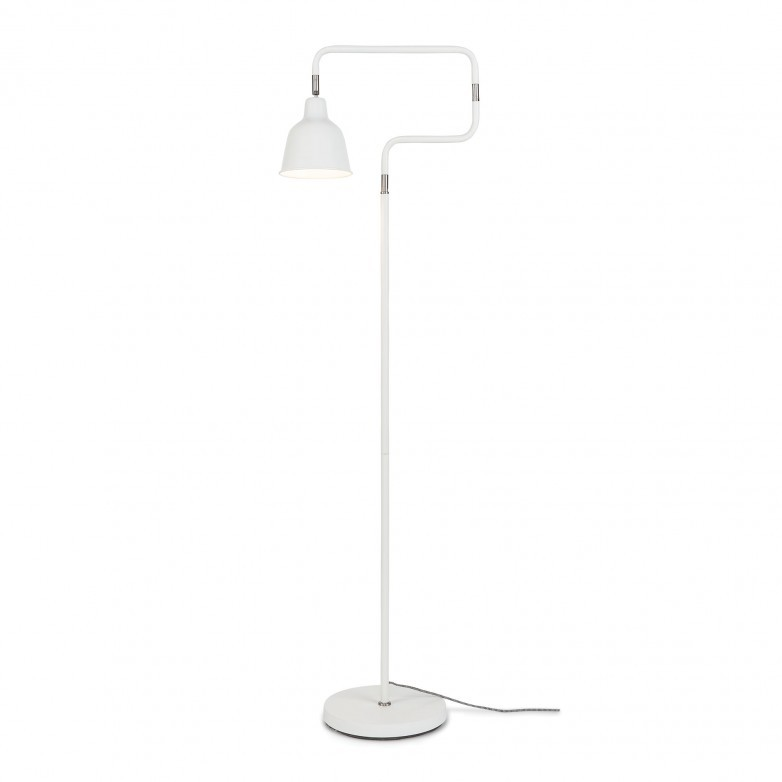WHITE LONDON FLOOR LAMP