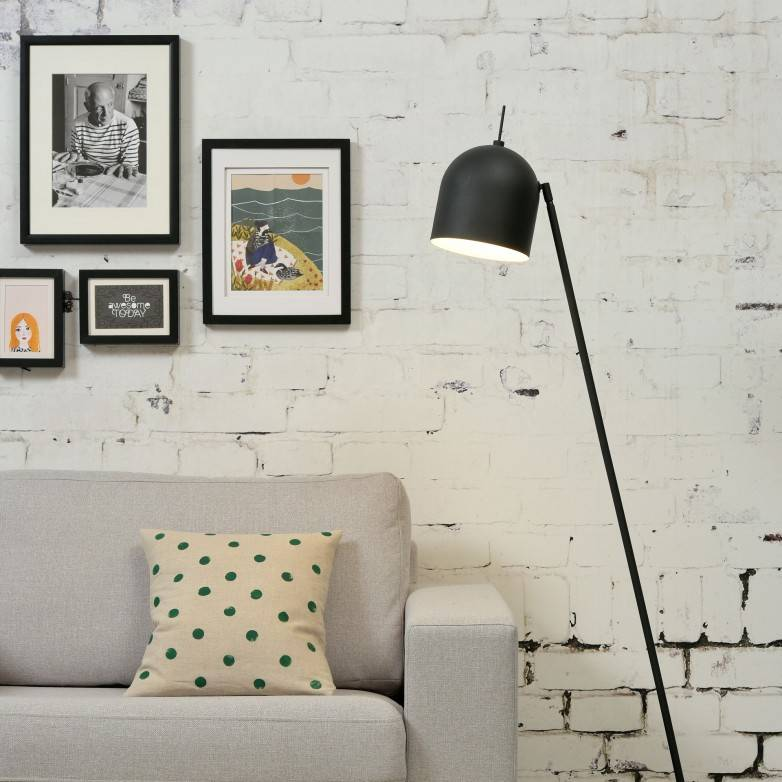 BLACK MADRID FLOOR LAMP