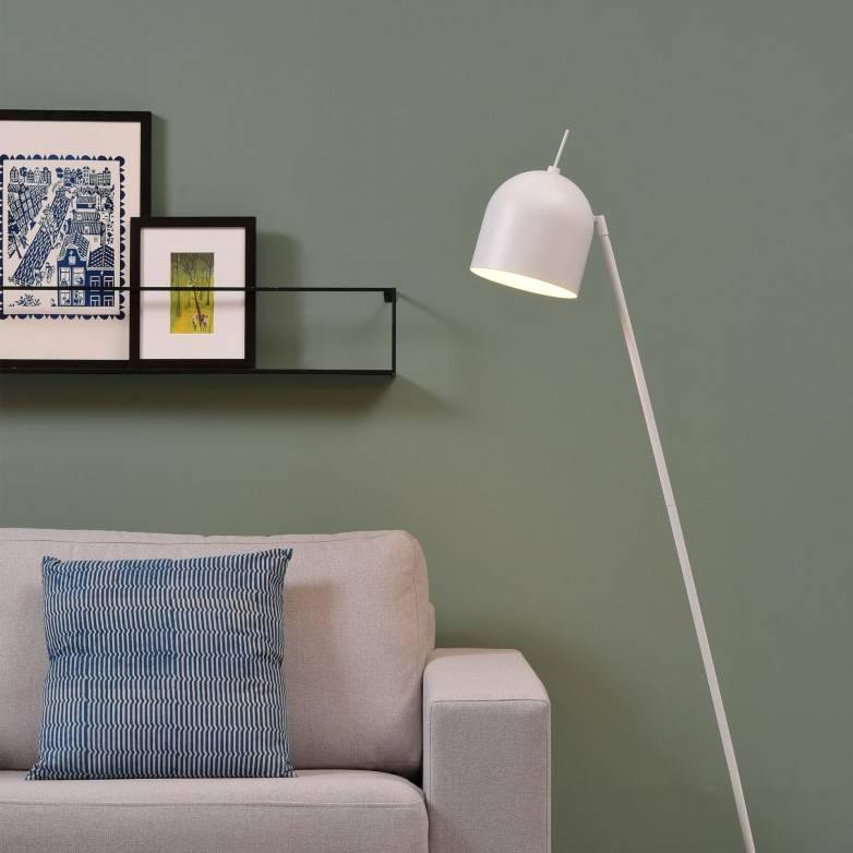 WHITE MADRID FLOOR LAMP