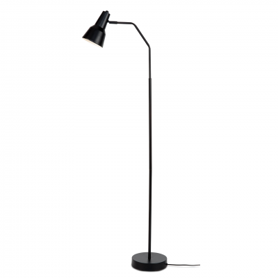 BLACK VALENCIA FLOOR LAMP