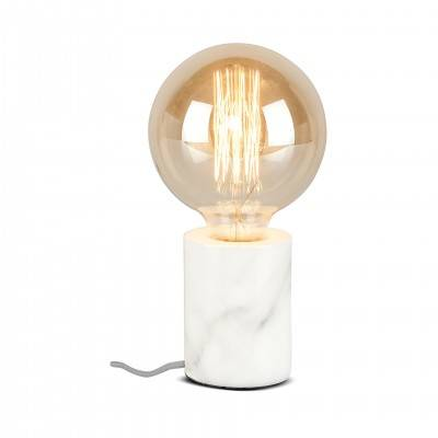 WHITE ATHENS TABLE LAMP