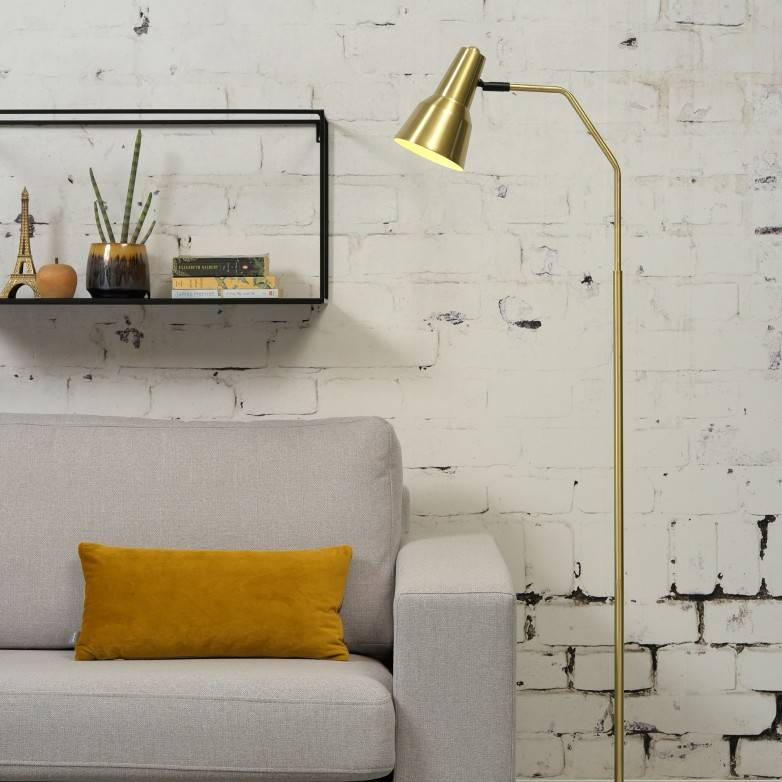 GOLD VALENCIA FLOOR LAMP