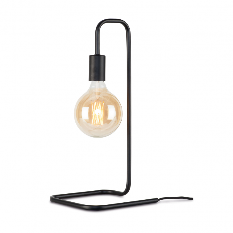 BLACK LONDON TABLE LAMP