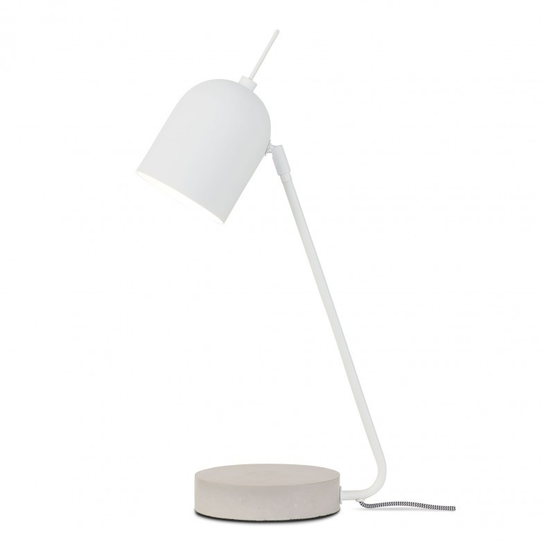 WHITE MADRID TABLE LAMP