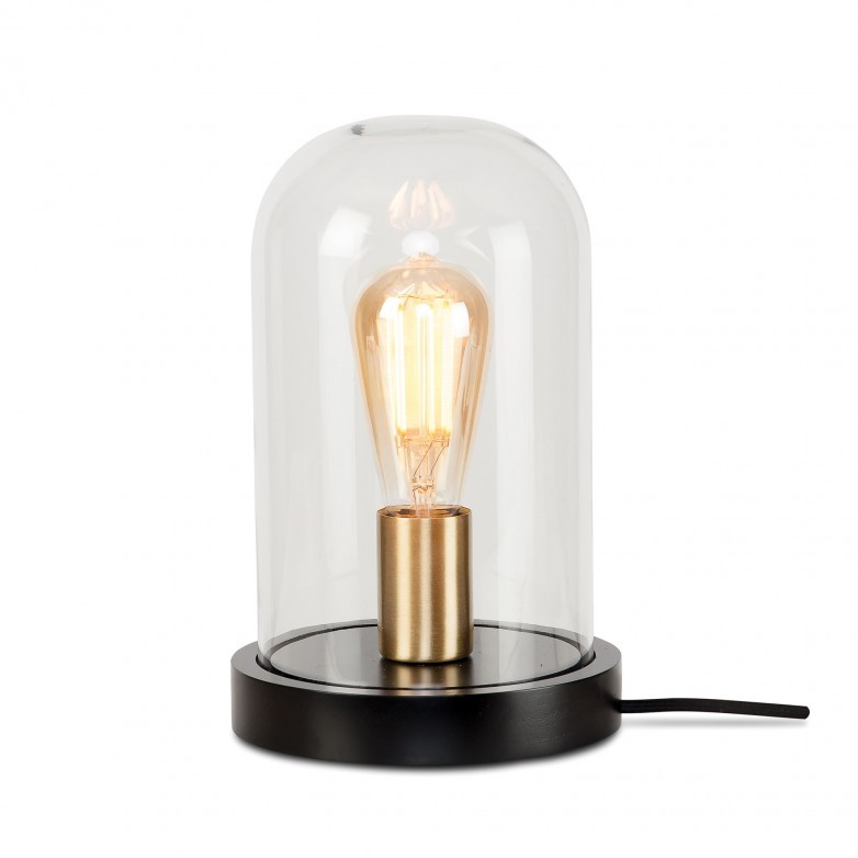 BLACK SEATTLE TABLE LAMP