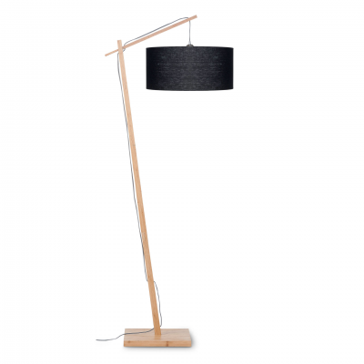 BLACK ANDES FLOOR LAMP