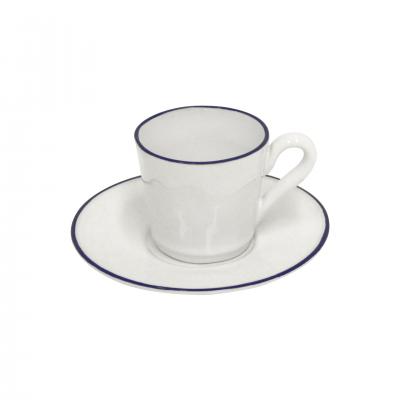 6 BEJA COFFEE CUPS & SAUCER - COSTA NOVA