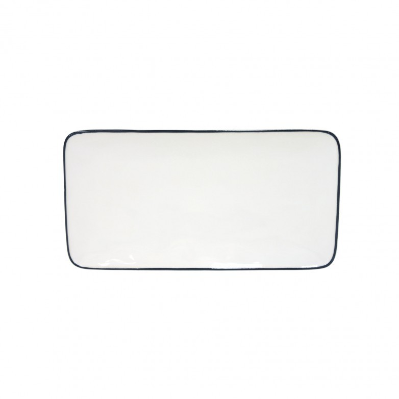SET 2 BEJA RECTANGULAR TRAYS 30CM - COSTA NOVA