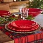 SET 6 PEARL RUBI DINNER PLATES - COSTA NOVA