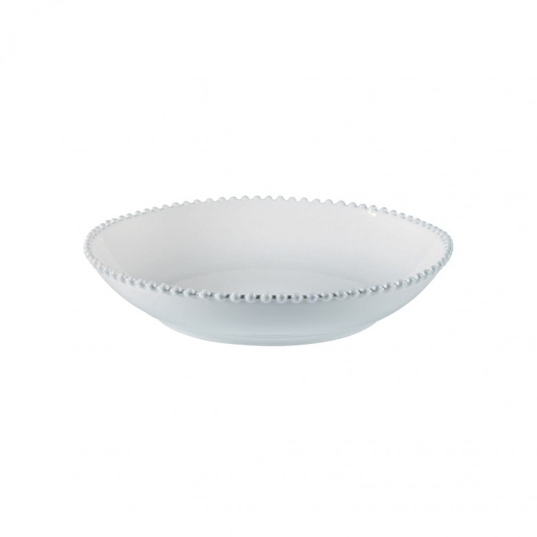 PEARL WHITE PASTA/SERVING BOWL